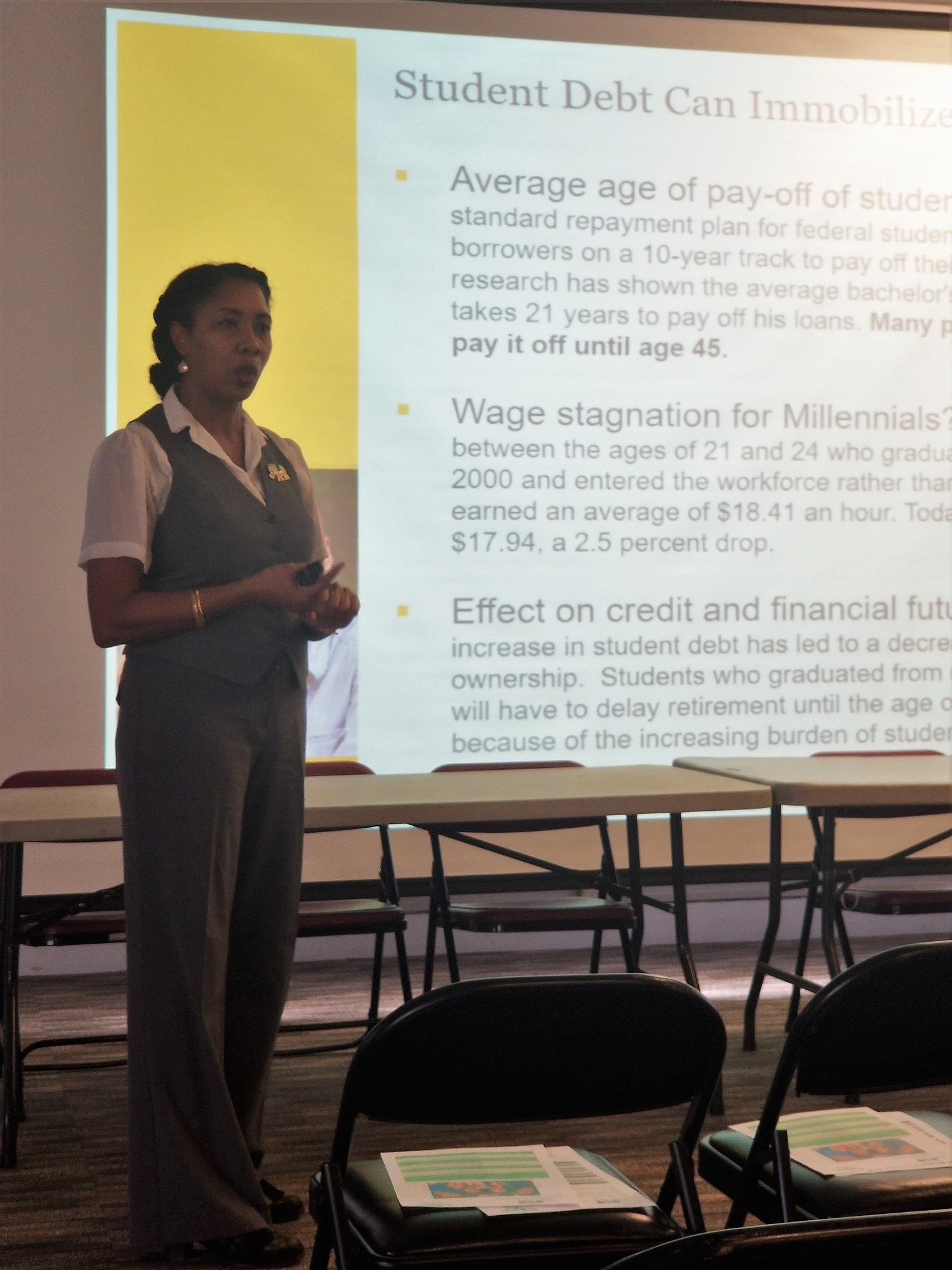 Financial Literacy Workshop at Shaw University
