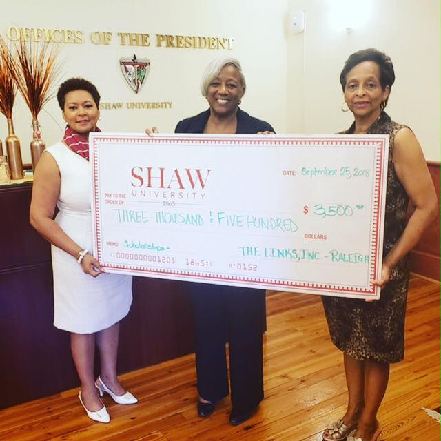 Supporting Our HBCU, Shaw University